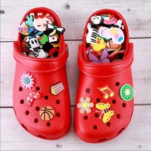 50 Crocs Shoe Charms Jibbitz